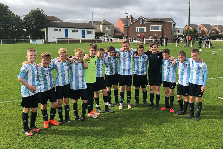Supporting Grass Roots Football