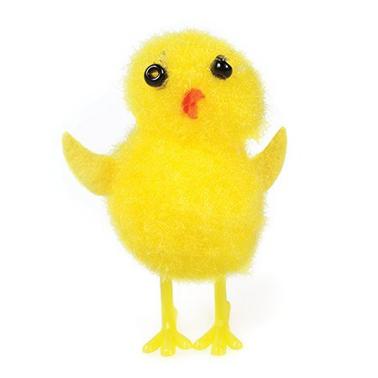 Small Yellow Chenille Chicks